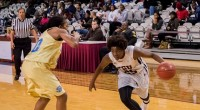 Jazzmin Parker totaled 24 points as the Texas Southern Lady Tigers used a big second half surge to defeat the Alabama A&M Bulldogs …read more Read more here: TSUBall.com Related […]